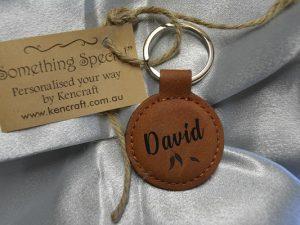 leatherette-keyring-round